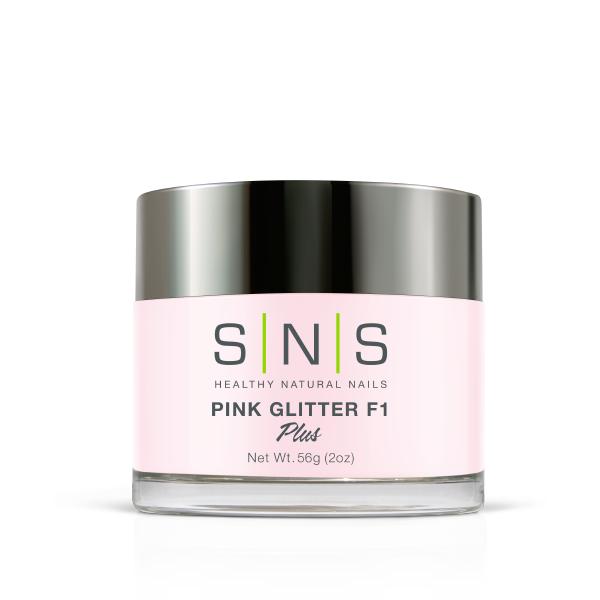 Pink glitter f1